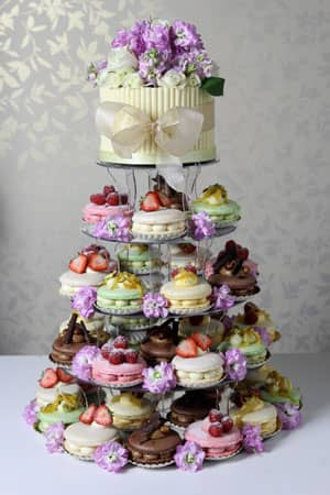 Wedding Cakes - Macaroon Gateaux Wedding Cake