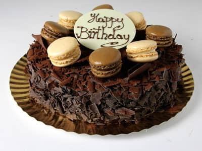 Celebration Cakes - Chocolate Macaroon Cake