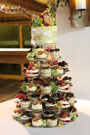 Wedding Cakes -  French Gateaux Tower