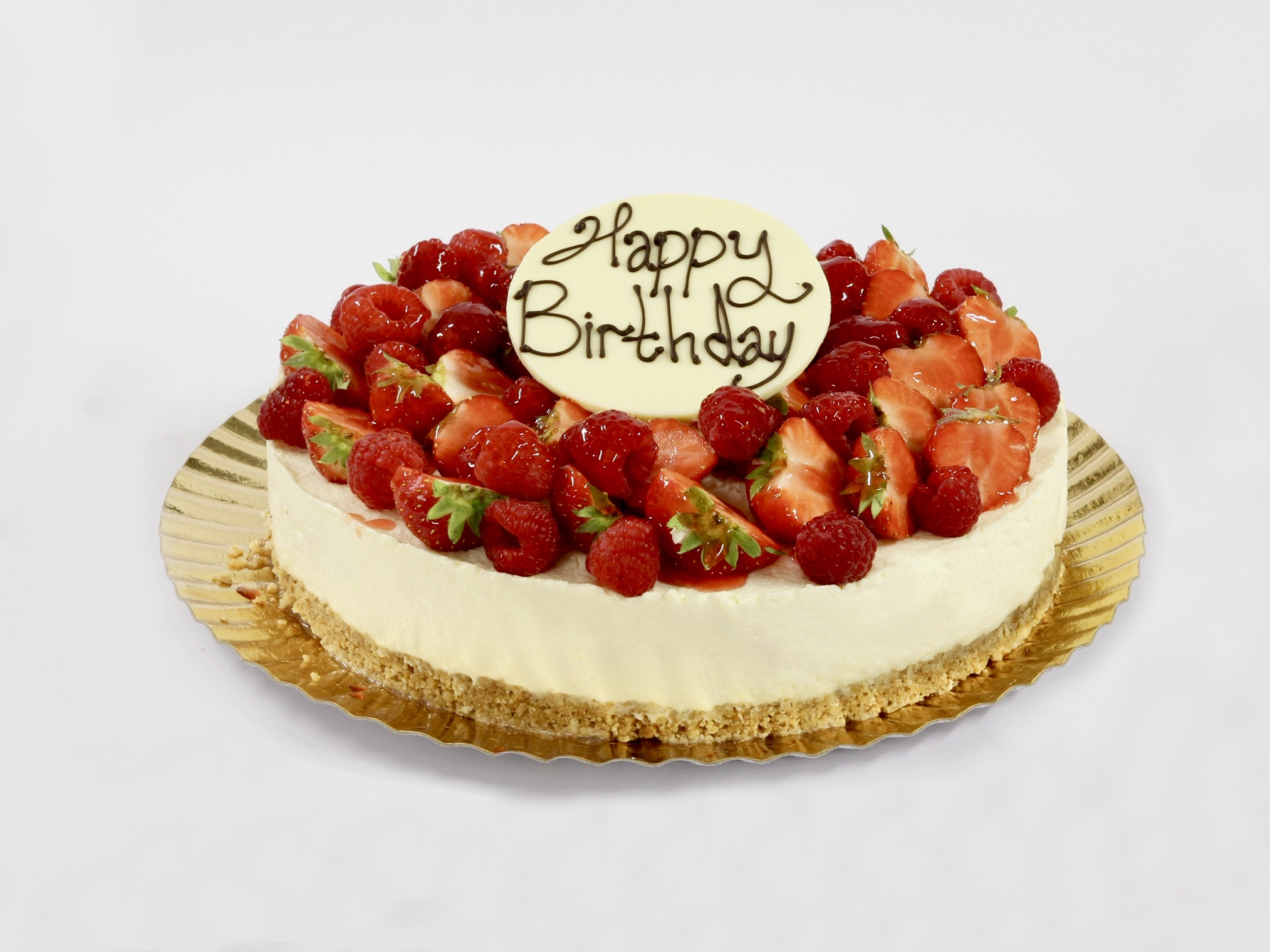 Celebration Cakes - Strawberry Cheesecake Celebration Cake