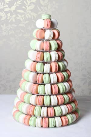 Wedding Cakes - Macaroon Tower