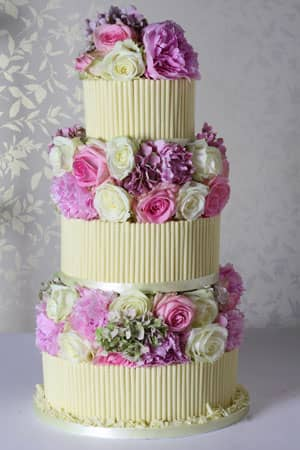 Wedding Cakes -  Vintage Cigarello Wedding Cake