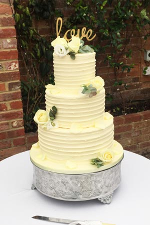 Wedding Cakes - Butter Cream Spin