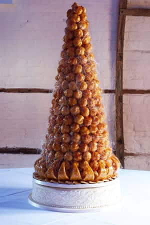 Wedding Cakes - Country Croquembouche