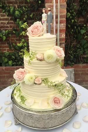 Wedding Cakes - Country Butter Cream Spin