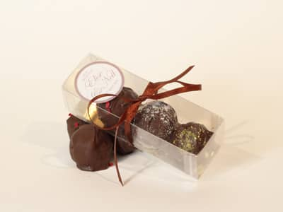 Wedding Favours - Chocolate Truffle Favour