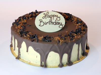 Celebration Cakes - Salted Caramel and Chocolate Cake