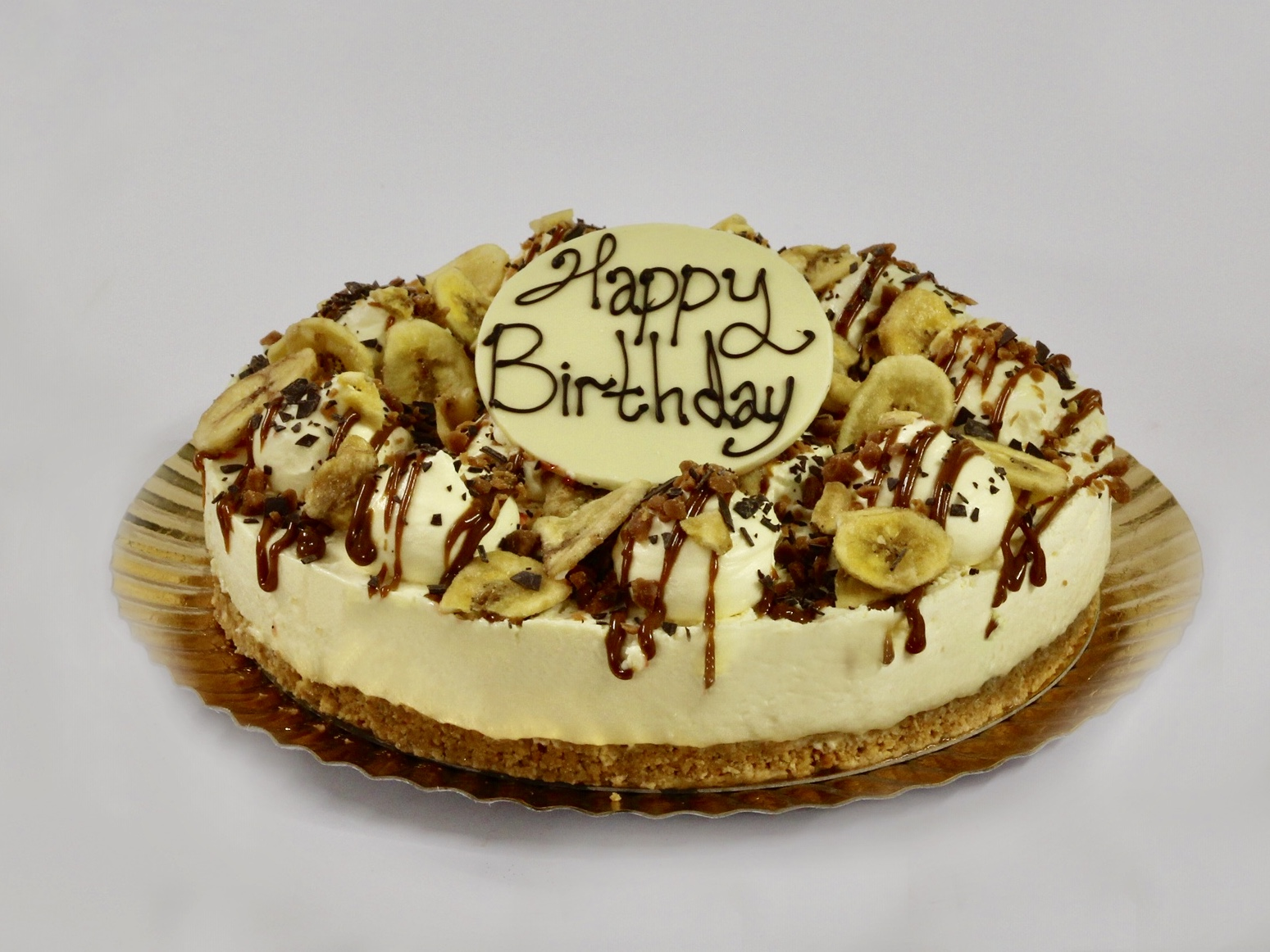Celebration Cakes - Banoffee Cheesecake