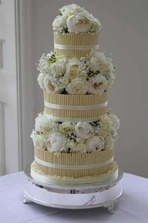 Wedding Cakes - Classic Cigarello Cake