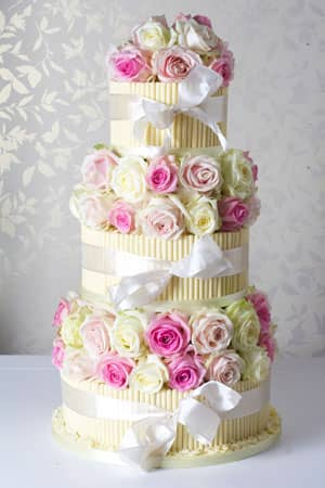 Wedding Cakes - Pretty In Pink Cigarello