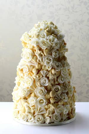 Wedding Cakes - White Chocolate Cherubim Cake