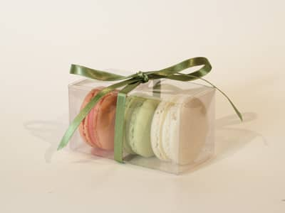 Wedding Favours - Three Macaroon Wedding Favour