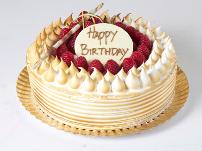 Celebration Cakes - Lemon Meringue Gateaux