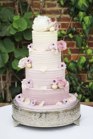 Wedding Cakes - Purple Ombre Butter Cream Cake