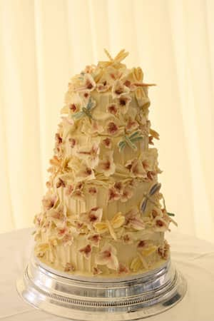 Wedding Cakes - White Chocolate Dragonfly Bliss