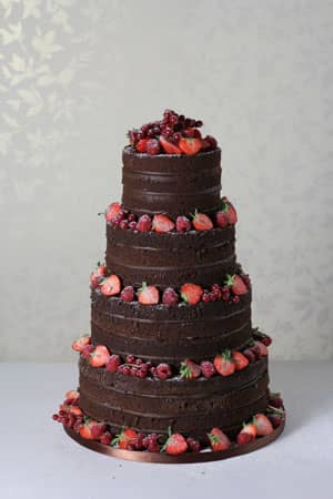 Wedding Cakes - Chocolate Naked Cake