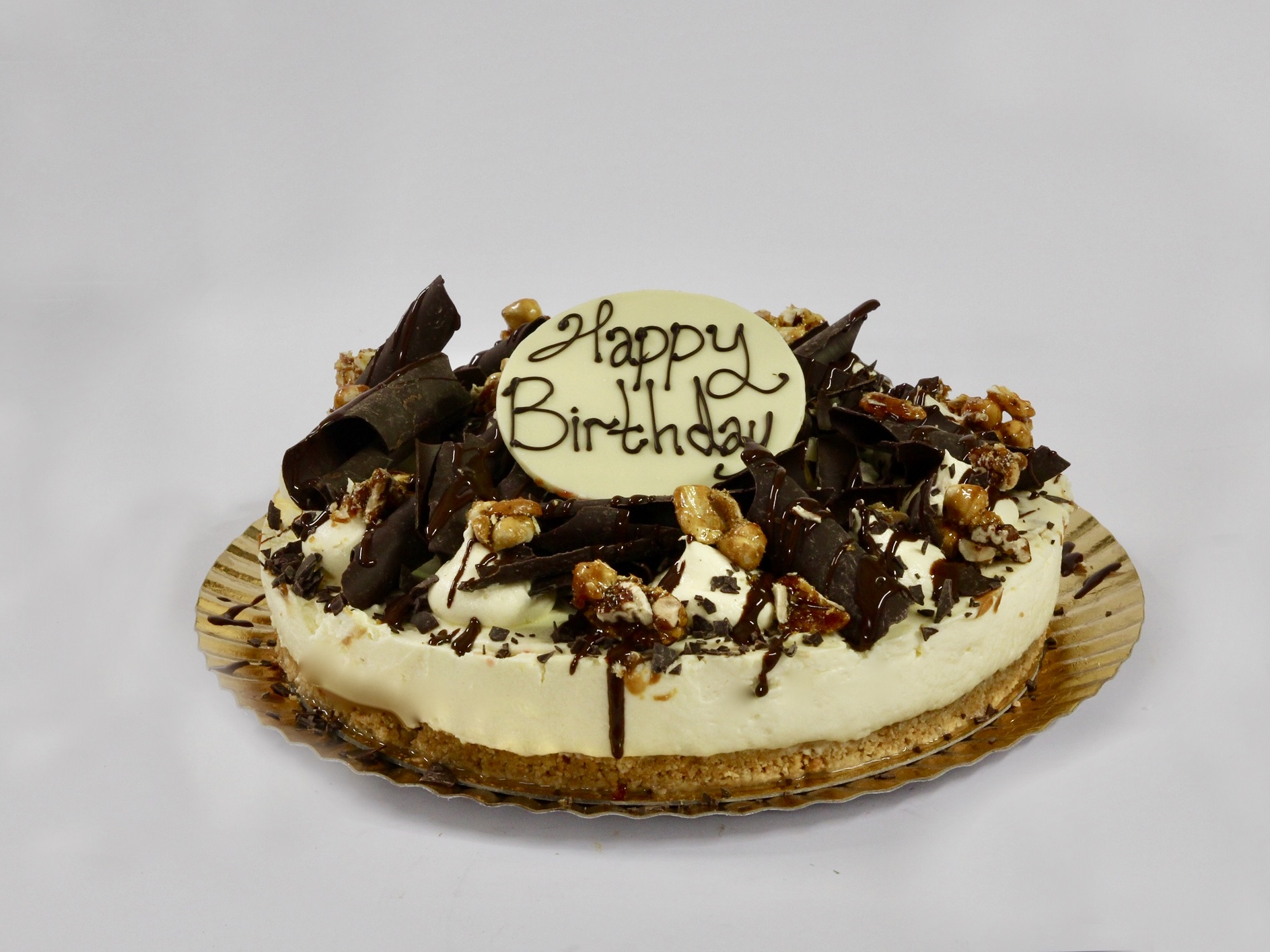 Celebration Cakes - Chocolate Nut Cheesecake
