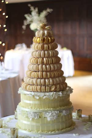 Wedding Cakes -  French Macaroon Tower